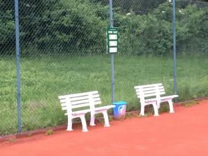 3. Tennisplatz im neuen Glanz.