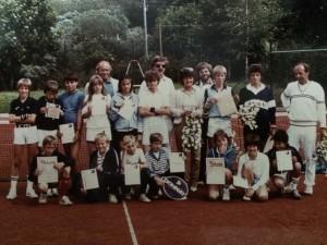 Kinder- und Jugendturnier 1982